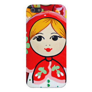Caso del iPhone 5 de la muñeca de Matryoshka iPhone 5 Carcasa