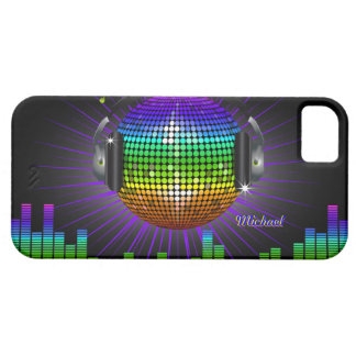 Caso del iPhone 5 de la música del disco de DJ Funda Para iPhone 5 Barely There