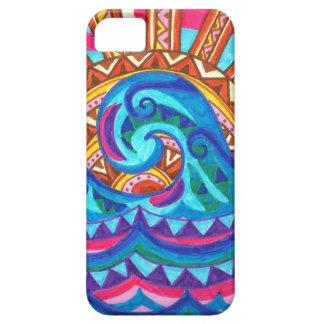 Caso del iPhone 5 de la ola oceánica Funda Para iPhone 5 Barely There