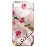 caso del iphone 5 de la orquídea del bella iPhone 5 cárcasas