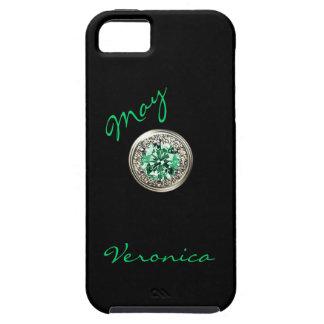 Caso del iphone 5 de la piedra de gema del mes del iPhone 5 Case-Mate cárcasa