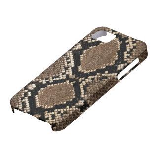 Caso del iPhone 5 de la piel de serpiente iPhone 5 Funda