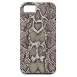 Caso del iPhone 5 de la piel de serpiente iPhone 5 Protectores