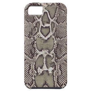 Caso del iPhone 5 de la piel de serpiente iPhone 5 Carcasa