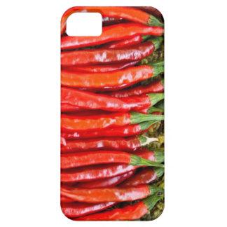 Caso del iPhone 5 de la pimienta de cayena iPhone 5 Case-Mate Cobertura