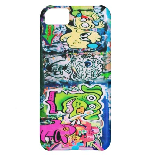 Caso del iPhone 5 de la pintada de Londres Funda iPhone 5C