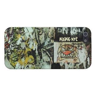 Caso del iPhone 5 de la pintada de Soho del perro iPhone 5 Fundas