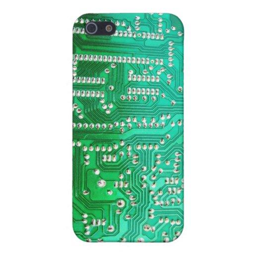 Caso del iPhone 5 de la placa de circuito iPhone 5 Protectores