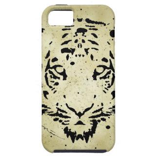 Caso del iPhone 5 de la plantilla del tigre iPhone 5 Carcasas