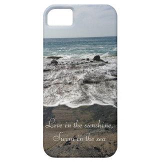 Caso del iPhone 5 de la playa de la nadada de la s iPhone 5 Case-Mate Cobertura