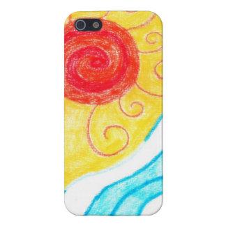 Caso del iPhone 5 de la playa del verano iPhone 5 Carcasas