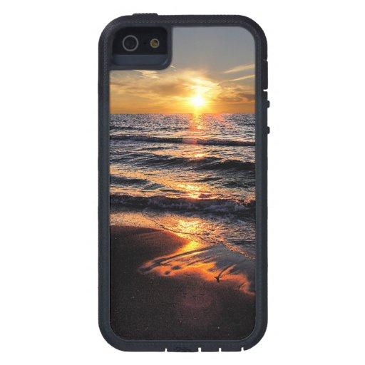 Caso del iPhone 5 de la playa Funda Para iPhone SE/5/5s