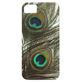 Caso del iPhone 5 de la pluma del pavo real iPhone 5 Case-Mate Carcasa