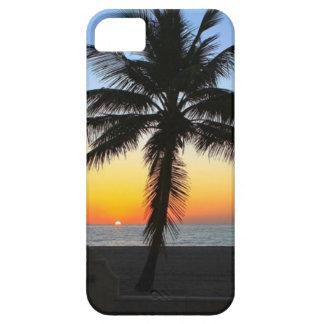Caso del iPhone 5 de la puesta del sol del océano Funda Para iPhone SE/5/5s