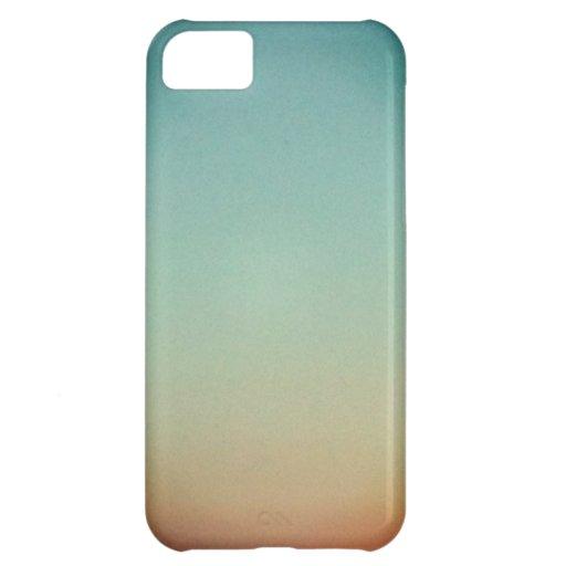Caso del iPhone 5 de la puesta del sol Funda Para iPhone 5C