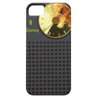 Caso del iPhone 5 de la radio de transistor de la Funda Para iPhone 5 Barely There