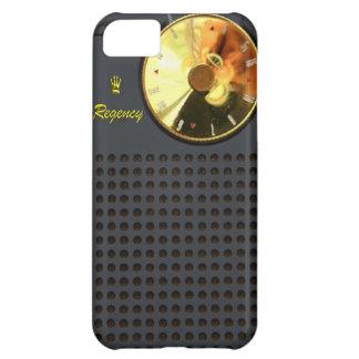 Caso del iPhone 5 de la radio de transistor de la  Funda Para iPhone 5C