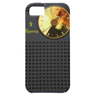Caso del iPhone 5 de la radio de transistor de la iPhone 5 Fundas
