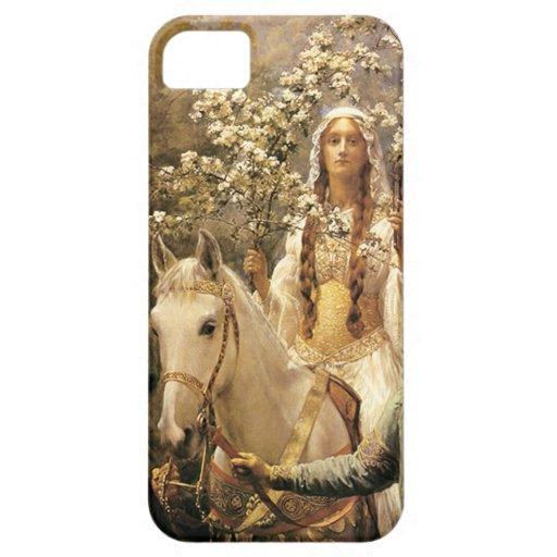 Caso del iPhone 5 de la reina Guinevere Maying iPhone 5 Case-Mate Protectores