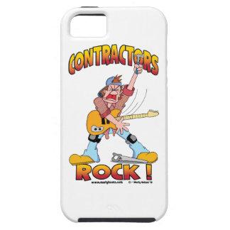 Caso del iPhone 5 de la roca de los contratistas iPhone 5 Funda