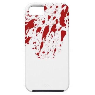 Caso del iPhone 5 de la salpicadura de la sangre Funda Para iPhone SE/5/5s