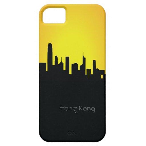 Caso del iPhone 5 de la silueta de la noche del pa iPhone 5 Case-Mate Protector