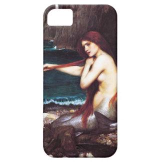 Caso del iPhone 5 de la sirena del vintage del iPhone 5 Case-Mate Funda