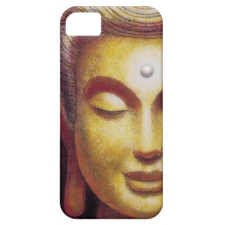 Caso del iPhone 5 de la sonrisa de la meditación d iPhone 5 Case-Mate Funda