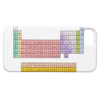 Caso del iphone 5 de la tabla periódica iPhone 5 Case-Mate cárcasa