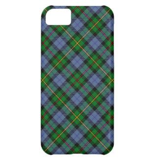 Caso del iPhone 5 de la tela escocesa de tartán de Funda Para iPhone 5C