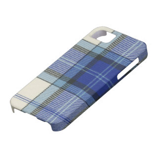 Caso del iPhone 5 de la tela escocesa de tartán iPhone 5 Funda