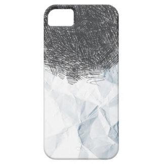 Caso del iPhone 5 de la textura del papel de dibuj iPhone 5 Case-Mate Cárcasas