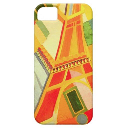 Caso del iPhone 5 de la torre Eiffel de Roberto De iPhone 5 Fundas
