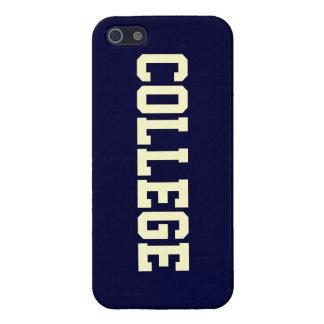 Caso del iphone 5 de la universidad del establo iPhone 5 carcasas