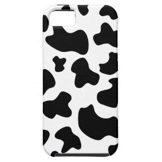 Caso del iPhone 5 de la vaca del MOO iPhone 5 Fundas