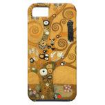 Caso del iPhone 5 de la vida de Klimt del vintage  iPhone 5 Case-Mate Protectores