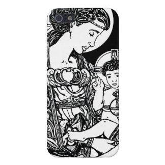Caso del iPhone 5 de la Virgen y del niño iPhone 5 Carcasa