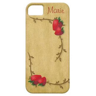 Caso del iPhone 5 de las fresas del país Funda Para iPhone SE/5/5s
