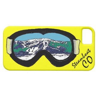 Caso del iphone 5 de las gafas de Steamboat iPhone 5 Carcasas