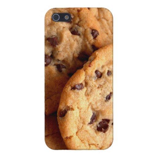 Caso del iPhone 5 de las galletas de microprocesad iPhone 5 Protectores