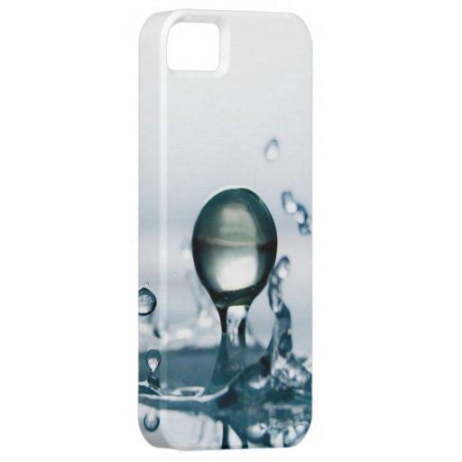 Caso del iPhone 5 de las gotitas de agua I Funda Para iPhone 5 Barely There