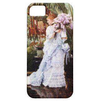 Caso del iPhone 5 de las lilas de James Tissot iPhone 5 Carcasas