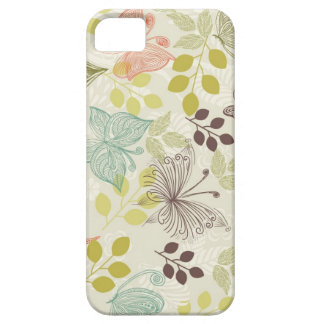 caso del iphone 5 de las mariposas del doodle iPhone 5 fundas