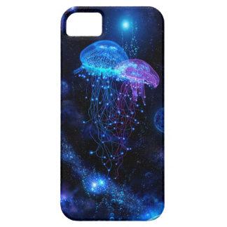 Caso del iPhone 5 de las medusas (color) iPhone 5 Case-Mate Cárcasas