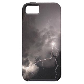 Caso del iphone 5 de las nubes de tormenta del funda para iPhone SE/5/5s
