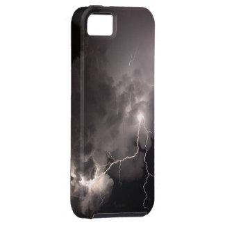 Caso del iphone 5 de las nubes de tormenta del rel iPhone 5 Case-Mate coberturas