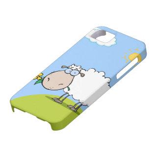 Caso del iPhone 5 de las ovejas del dibujo animado Funda Para iPhone SE/5/5s