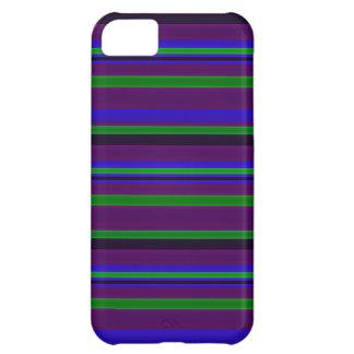 Caso del iPhone 5 de las rayas de la pluma del pav