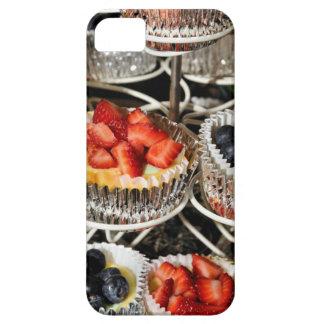 Caso del iphone 5 de las tartas de la baya de la iPhone 5 funda