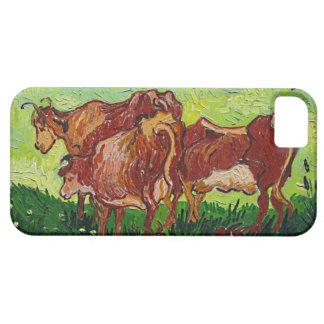 """Caso del iPhone 5 de """"Les Vaches"""" de Van Gogh Funda Para iPhone SE/5/5s"""